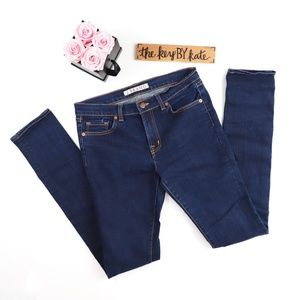 J Brand Long Tall Skinny Blue Jeans